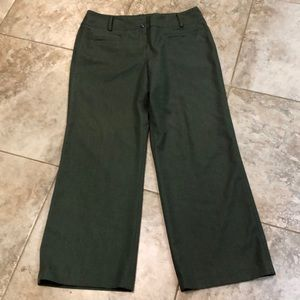 Women's green pants by dressbarn size 14